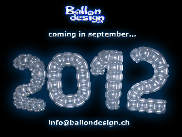 Ballondesign coming in february 2010